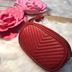 Steve Madden Belt Bag Red NWT medium